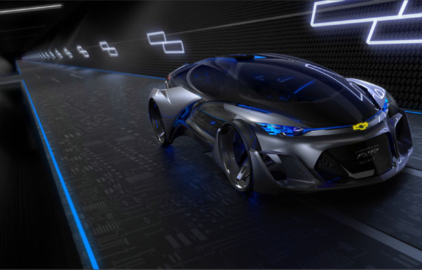 Chevrolet FNR Autonomous Electric Concept Vehicle