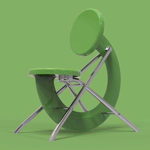 Chic Chair by Vasil Velchev