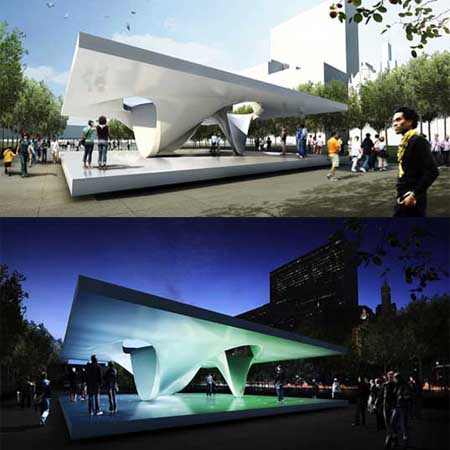 burnham eco pavilions in millenium park by unstudio