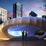 Burnham Eco Pavilions by Zaha Hadid and UNStudio