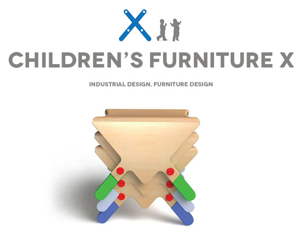 Children Furniture X by Mustafa Cohadzic and Sanjin Halilovic