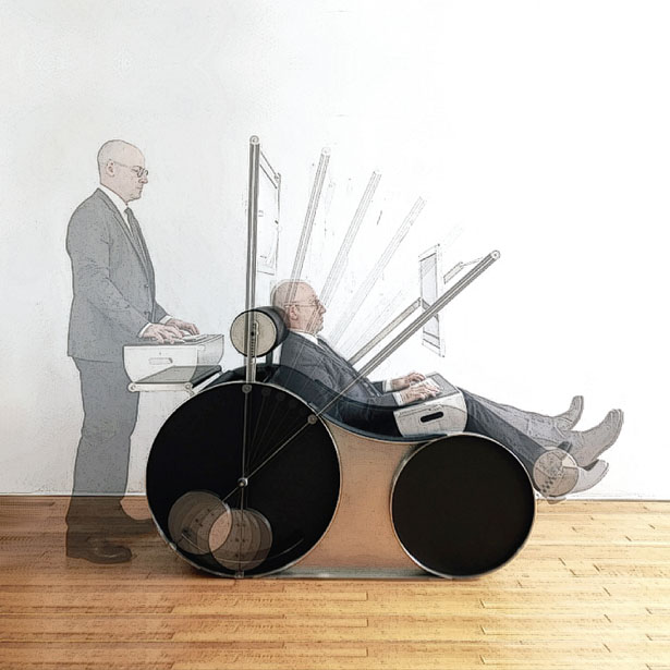 Chotto Multifunctional Chair by Stroman Design