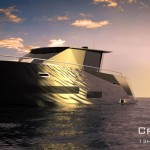 Beautiful and Sleek Cristiana Yacht by Hyun-Seok Kim