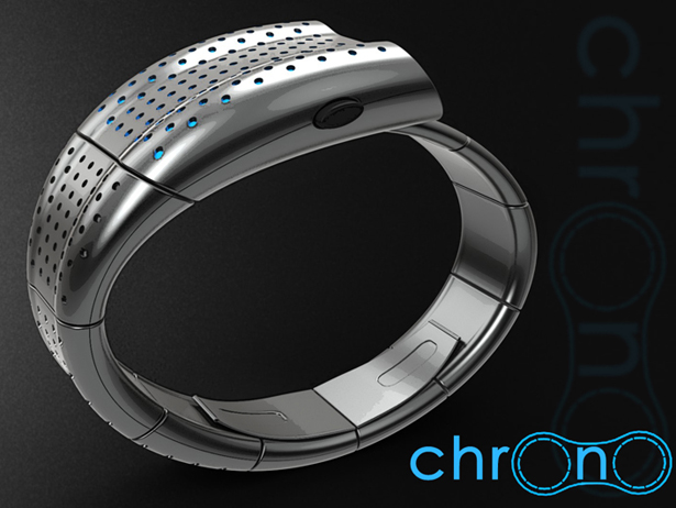 Chrono Dashboard Inspired Watch by Peter Fletcher