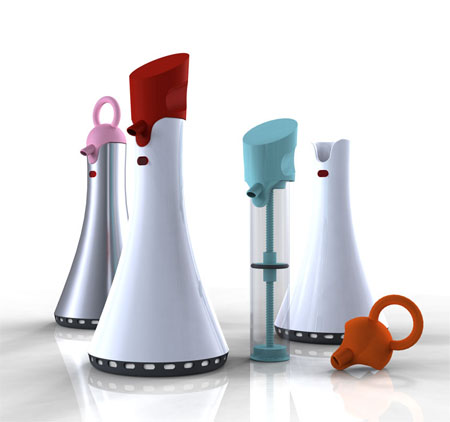 chube automated toothpaste dispenser