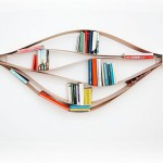 Chuck Flexible Bookshelf Allows You to Determine Its Form