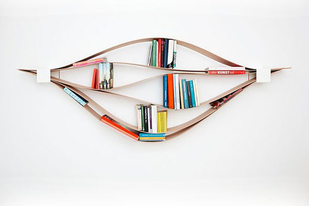 Chuck Flexible Wall Shelf by NEUVONFRISCH
