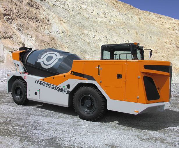 Cifa Coguaro4 Mine Mixer by Marco Monticelli and Samuele Montorfano