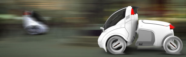 Citi.Transmitter Community Vehicle System by Vincent Chan