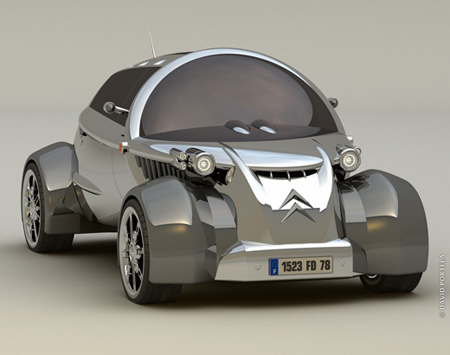This Could Be The Future of Citroen 2CV Car