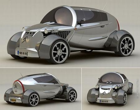 citroen 2cv concept car