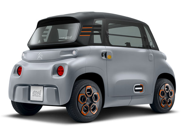Citroën AMI Concept Electric Mini Car