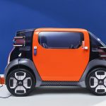 Citroën Ami One Concept Urban Mobility as An Alternative to Public Transport