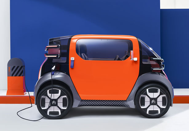 Citroën Ami One Concept Urban Mobility Controlled via Smartphone