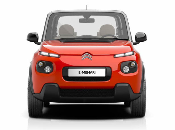 Citroen e-Mehari all electric concept car