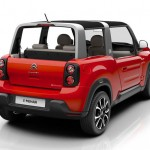 Citroen e-Mehari : 4-Seater Cabriolet with Modern and Stylish Design