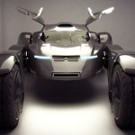 Futuristic Citroen Taranis Two Seater Off-Road Racer Concept