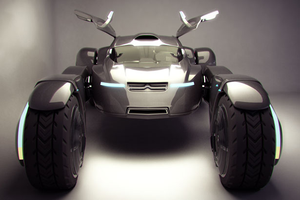 Citroen Taranis Two-Seater Off-Road Racer by Peter Norris