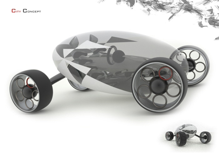 City Car Concept to Address Parking Space Issue in The Future
