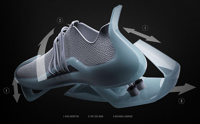 CITY GLIDER Next Generation Footwear Design by Frederick Phua Wei Qiang