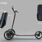 CityPorter eScooter by Christian Polonyi