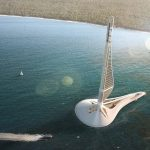 Civilization 0.000: Floating Power Station Generates Electricity from Three Renewable Energy Sources
