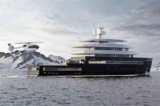 Class 55 Explorer Yacht for Your Most Extreme Expeditions