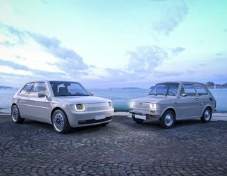 Fiat 126 Vision Redesigns Classic Fiat 126 for Millennial Generation