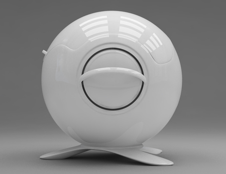 Classical Soup Serving Dish Gets New Shape as Sphere Tureen