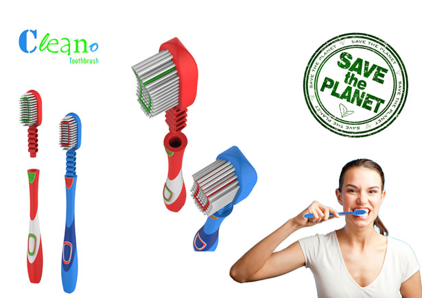 Cleano Toothbrush by Muhammed Rafeeq