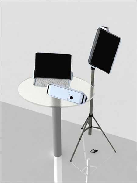 clef music note stand
