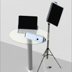 CLEF Digital Music Note Stand Concept
