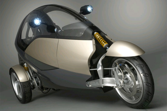clever three wheeler vehicle concept
