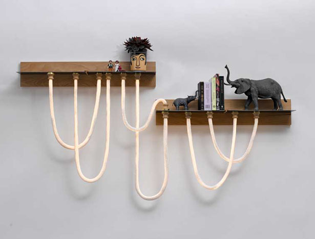 Click Light - Rope Style Light by StudioKnob