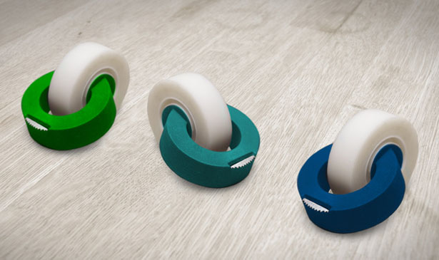 ClickTape Dispenser by Derk Reilink
