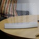 Elegant Clio Invisible Speaker with Edge Motion Technology