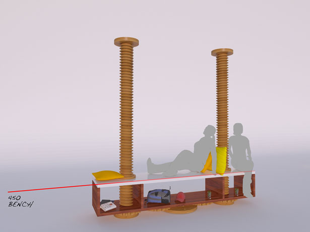 Clockwork Joinery Multifunctional Furniture Concept by David Hashimoto