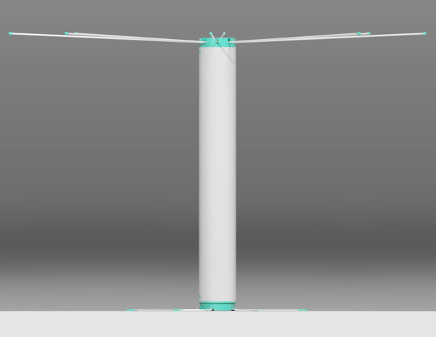 Clothesline Tube by Wagner Conz