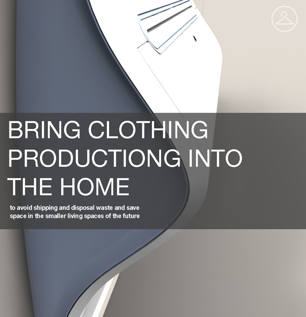 Clothing Printer for 2050 by Joshua Harris