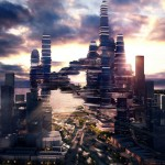 Cloud Citizen : Futuristic Green Skyscrapper for Shenzhen Bay Area