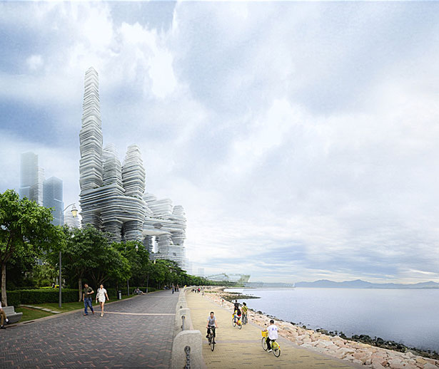 Cloud Citizen for Shenzhen Bay Super City Competition by Urban Future and CR-Design