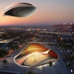 Cloudea Futuristic Airship Floats In The Air Just Like a Cloud