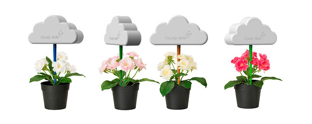 Cloudy Belle Plant Pot Decoration