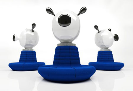 clown sofa by jaime hayon