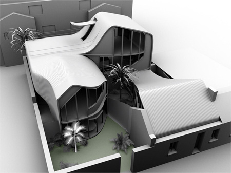 Cluster Housing Design to Handle Extreme Temperature Problems