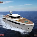 Nethuns 80 Yacht Features Spacious Interiors and Large Outdoor Areas