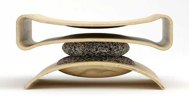 Co-existence Chair by Ryan Jongwoo Choi