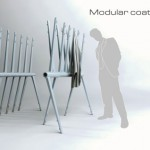 Modular Coatrack Allows You to Spare A Lot Of Space