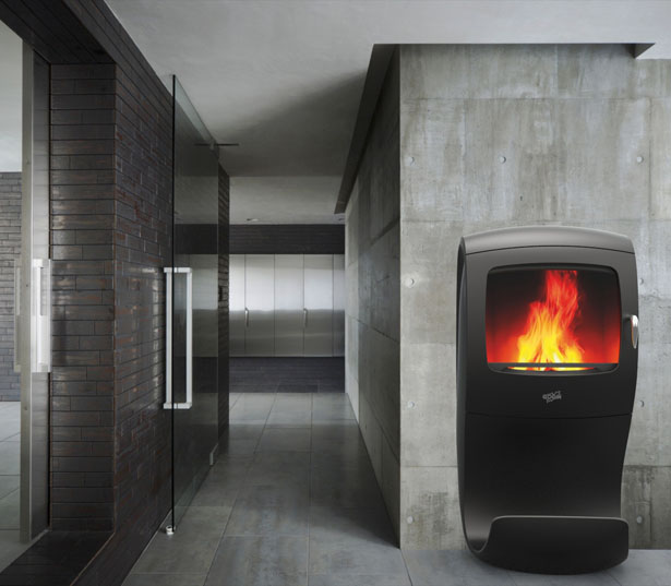 Godin Cobra Wood Stove by Jerome Olivet