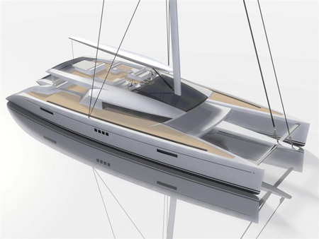 code e luxury eco friendly catamaran